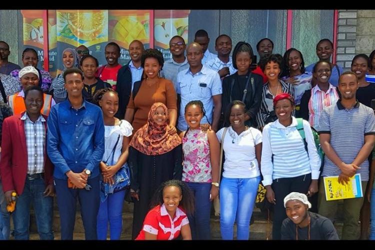 DFSNT students at Coca Cola Company