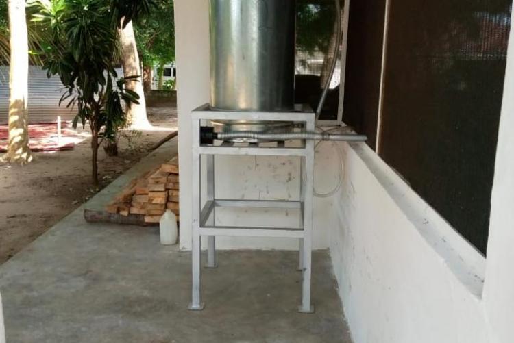 Processing Moringa powder