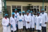 Study visit to Meru Greens for vegetable processing under the Food Security center short course training